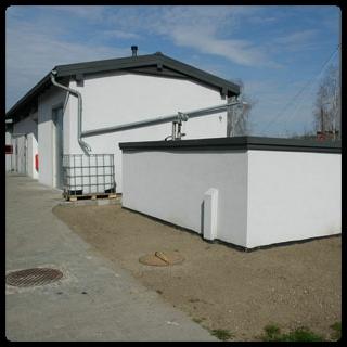 Realizacja Jawo - zbiornik oczyszczalni