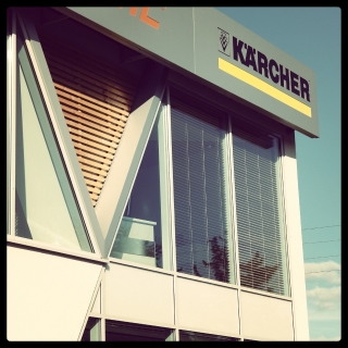 Skrót do galerii projektu obiektu Karcher