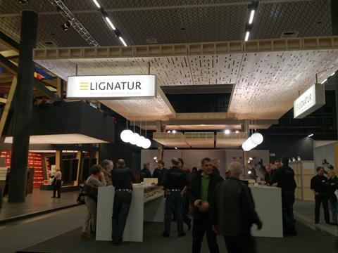 Stanowisko Lignatur na targach Swissbau 2014